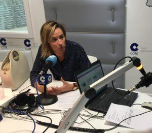 Cristina Larráyoz hablando de traumas, episodios traumáticos